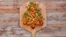 Christmas Tree Pull-Apart Bread
