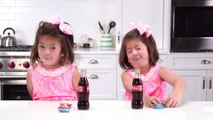 Southern Kids Try Coke and Peanuts