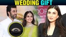 Ranbir Kapoor Alia Bhatt Receive Their FIRST Wedding Gift By Riddhima Kapoor