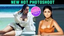 Malaika Arora Or Shilpa Shetty Superhot Fitness War | New Photoshoot INSIDE