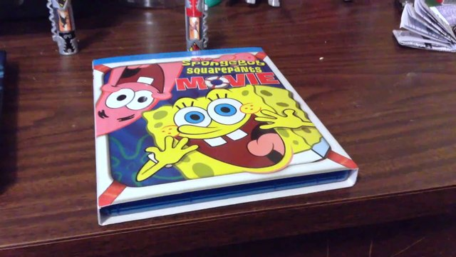 The Spongebob Squarepants Movie Blu Ray Dvd Digital Hd Unboxing