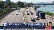 Les contrôles de gendarmerie renforcés à l'occasion des chassés-croisés des vacances
