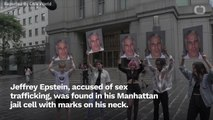 Jeffrey Epstein Found With Marks In Manhattan Jail Cell