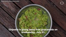 How To Get Free Guac At Chipotle