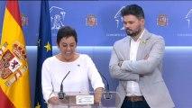 ERC Y EH-Bildu anuncian su abstención en la segunda votación de la investidura de Pedro Sánchez