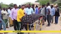 Somalie: hommage aux victimes d'un attentat à Mogadiscio