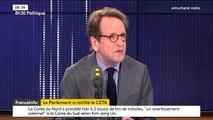 """""""Quand on a engagé le Ceta, Nicolas Hulot était ministre et il a approuvé la démarche qu'on a mise en place pendant deux ans"""", déclare Gilles Le Gendre"""