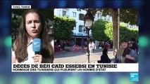 Décès d'Essebsi : deuil national de 7 jours et funérailles prévues ce samedi en Tunisie