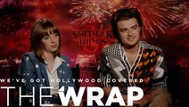 'Stranger Things 3': Joe Keery and Maya Hawke on Steve, Robin and Dustin's 'Slapstick' Starcourt Mall Adventure