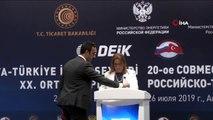 Ticaret Bakanı Ruhsar Pekcan Türkiye-Rusya İş Forumu ile Türkiye-Rusya Hükümetlerarası 16. Dönem...