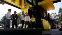 Tour de France 2019 : Pierre-Marie Charvoz se félicite du savoir-faire de Saint-Jean-de-Maurienne