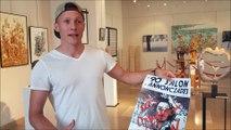Benjamin Locattelli explique son geste artistique