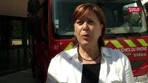 """""""Les sapeurs pompiers, on les appelle sur toutes sortes de missions """" déplore Catherine Troendle"""
