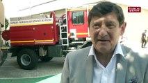 """""""Un témoin d'agression de sapeur  de pompier devrait pouvoir témoigner de manière anonyme"""" estime Patrick Kanner"""