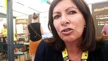 Anne Hidalgo à Saint-Jean-de-Maurienne : « J'aime le vélo, j'aime la Savoie »