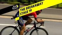 L'échappée / The breakaway - Étape 19 / Stage 19 - Tour de France 2019