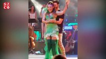 Ziynet Sali, konserinde sevgilisiyle dans etti