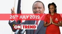 President Uhuru on that wamlambeez vibe #OnTrend Ep 74