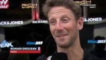 """Grosjean : """"Ca reste en interne"""""""