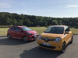 Comparatif vidéo - Renault Twingo vs Kia Picanto
