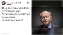 Le Défenseur des droits recommande une «réflexion approfondie» sur les grenades de désencerclement
