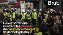 En Asie du Sud-Est, ils retournent les déchets plastiques à l'envoyeur