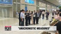 S. Korea says Japan's export curbs are 'anachronistic'