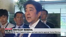 Japan to cut South Korea from its whitelist: Reports
