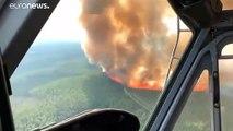 شاهد: اندلاع حرائق الغابات في ألاسكا بشكل يومي