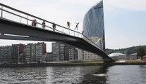 Liège : Ils sautent de la passerelle parc de la Boverie