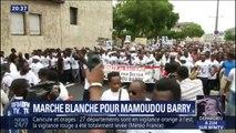 Universitaire tué à Rouen: près de 2000 personnes rendent hommage à Mamoudou Barry lors d'une marche blanche