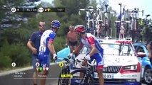 All hail Bernal as weather helps strip Alaphilippe of yellow jersey
