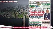 Le Titrologue du 08 juillet 2019- CNI payante, réforme de la CEI, les ivoiriens se dressent contre le RHDP