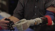 A New Robotic Arm Lets Amputees Feel Again