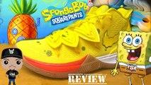 Nike Kyrie 5 Spongebob Squarepants Sneaker Super Detailed Review