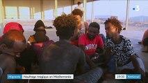 Migrants : une centaine de disparus après un naufrage en Méditerranée