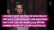 Johnny Depp accuse désormais Amber Heard de lui avoir écrasé u...