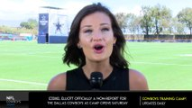 Cowboys officially kick-off Training Camp, Ezekiel Elliott a no show