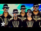 AMAZING Michael Jackson Dance Crew on Spain's Got Talent - Got Talent Global