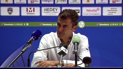 Conférence de Presse de Rui Almeida après FC Sochaux / SMCaen
