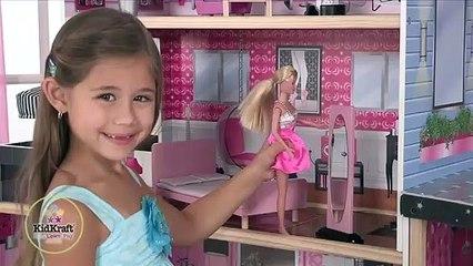 Kidkraft Girl's Pink Sparkle Mansion Dollhouse