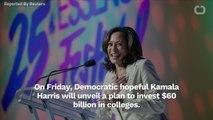 Harris Has $60-Billion Black College Tuition Plan