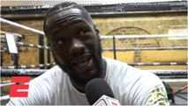 Deontay Wilder finalizing Tyson Fury, Luis Ortiz rematches, talks Anthony Joshua