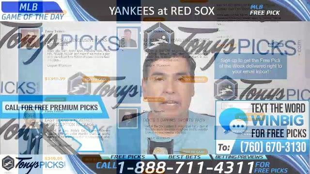 New York Yankees vs Boston Red Sox 7/27/2019 Picks Predictions Previews