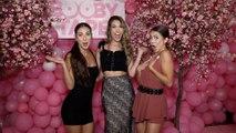 "Melanie Wilking, Jena Rose, Miranda Wilking ""Booby Tape"" USA Launch Party Pink Carpet"