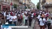 Hommage : marche blanche pour Mamoudou Barry