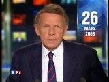 TF1 - 26 Mars 2008 - JT 20H (PPDA annonce la mort de Thierry Gilardi)