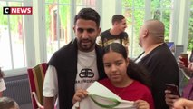 Riyad Mahrez reçoit la médaille de la ville de Sarcelles