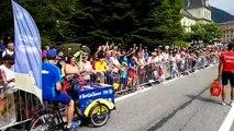 Tour de France, ambiance sur la ligne de départ à Albertville