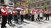 L'orchestre Perle à la Grande braderie de Strasbourg